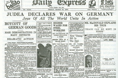 the-bizarre-story-of-kristallnacht-631-judea-declares-war-daily-express-evening-edition