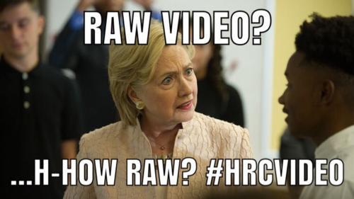 q Hillary meme RawVideo